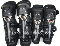 Free shipping! Wholesale Motorcycle protector kneepad elbow free outdoor sports four piece set/Dirt bike racing gear