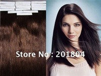 "100% best quality beauty grade AAA fashion tape hair extension 20"",1#"