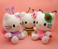 "Free Shipping 3PCS Hello Kitty Stuffed Plush Doll Soft Toy 6.5"" Wholesale and Retail"