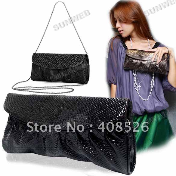 2012 free shipping women's New Envelope handbag Stylish lady's totes /design fashion shoulder bag 3515(China (Mainland))