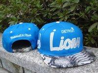 Lions snakeskin snapback hat cap snakeskins snapbacks hats caps snap back snake skin adjustable new style vintage