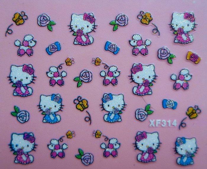 Wholesale 3D nail art sticker manufacturer,self adhesive nail art decoration,3D nail beauty stickers,nail art flower,nail decals(China (Mainland))