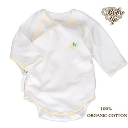 WHOLESALE RETAIL BEBE UP ORGANIC COTTON NEW BABY ROMPER,BABY KIMONO,CHILDREN CLOTHING(China (Mainland))