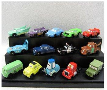 DHL Free shipping High Quality PVC NEW 14 pcs Pixar Car Figures Full Set for Gift Wholesale 700pcs (50packs)
