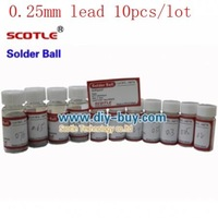 0.25mm Scotle Solder Ball Lead 25k For BGA Reballing 10pcs/lot