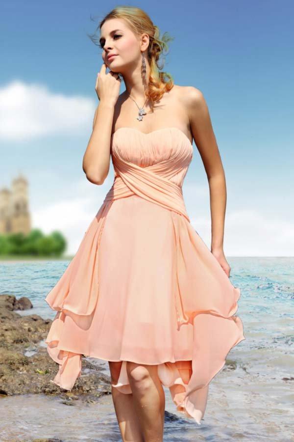 New fashion bridal Dress custom made summer ladies sweetheart