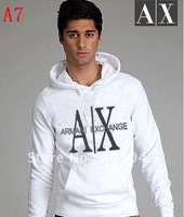 2012 New Men's 100% cotton fashion sport Sweatshirts Hoodies jacket coats 007