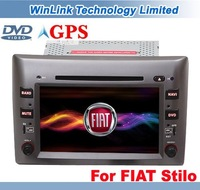2012 New 8 Inch 2 Din In dash Fiat Stilo Car DVD GPS Navigation With Stereo Audio RDS Radio Bluetooth Phone Book