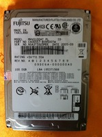 Original  For  Fujitsu   MHV2100AT  PL  2.5 inch  IDE  PATA   100GB  laptop  Hard   Disk  Drive     CA06557-B39500TW    R52  T43