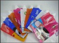 100pics/lot foldable water carton sport travel bottle 480ml hello kitty doraemon domo spongebob...14styles mixed 5kg/lot