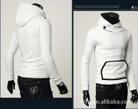 Мужская ветровка DOUBLE COLLAR SIDE ZIP SHORT JACKET SWEAT MF-0859