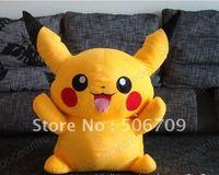 "LARGE FAT Pokemon Pikachu PLUSH STUFFED TOY GIANT 31""PLUSH TOY FANTASTIC GIFT ! FAST & FREE SHIPPING"
