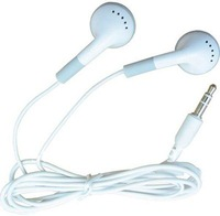 10pcs/lot Earphone Headphone For iPod iPhone iPad, MP3 MP4 Player 3.5mm In-Ear fastest shipping via EMS or DHL