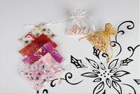7X9cm pouch gift bag organza jewelry bag /  drawstring pouch / MOQ 100 pcs/ lot / free shipping