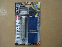 50pcs/lot Titan peeler, wonder peeler power peeler with BONUS Julienne Blade Set, Free Slicing Board
