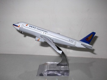 Free Shipping: China Post, China HaiNan Airlines A320 aircraft model,16cm,metal airplane models,airplane model