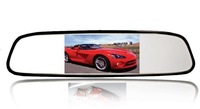 New arrival 4.3 inch car rear view mirror monitor  inch Car rearview Monitor  Drop shipping