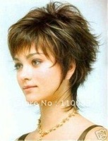Free P&P ****************new Stylish short wavy hair wig/wigs Imitate human hair no lace