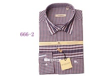 Fashion men Cotton shirt dress shirt for men FreeShipping size S-XXL