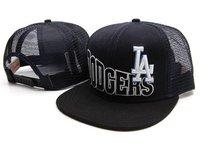 Los Angeles Dodgers snap back Caps mesh Trucker Ha black white  SNAPBACK stoked Snapback Hat  Cap Sport Cap Wholesale snapbacks