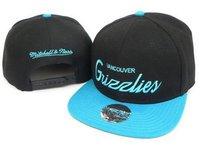 adjustable vintage Grizzlies  snapback hat cap  hats snapbacks hats caps snap back snake skin blue black