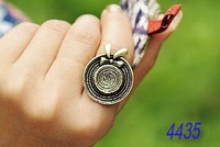 Free Shipping Hot Trendy Bronze Finger Ring Antique Engagement Rings Gift Hat Shape  20pcs Mixed Lot