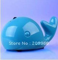 Gift Whale  Mini Speaker Mp3 Player withTF card USB port,computer Speakers/portable speakers//Sound box free shipping