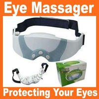 Free shipping via Hongkong post 1pcs/lot+eye nurse eye care massager Mask Migraine DC Electric Care Forehead Eye Massager