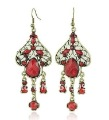 Wholesale Hot Sale! 12 Pairs/Lot New Arrival! Fashion Vintage Earrings Retro, Girl Drop Earrings, Free Shi ...