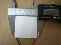 TEC1-12705T125,Max15.4V,40x40mm,thermoelectric cooler parts,peltier module,tec cooler,Tec module,