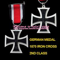 BM0001 Free Shipping 5 Pcs The Franco-Prussian War 1870 Iron Cross 2nd Class Eisernes Kreuz 2. Klasse Military Medal 1870 EK2