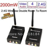 2.4G 4CH Switch Channel Wireless Video Receiver and Wireless Video Transmitter