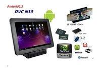 "10.1"" Capacitive Multi- Screen Nvidia Tegra 2 250 Dual Core ARM Cortex A9/ 1G/16G Bluetooth WiFi 3G"