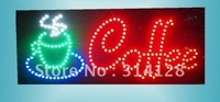 LED sign LED COFFEE sign Number:HSC0001 LED sign board free shipping from china