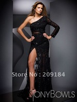 Evening dress Formal Gown Lace Customize Free shipping  WZ0070