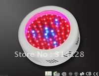 LED UFO grow light Color Ratio:R&B=9:1 Lumens:1500lm Blue:450-470nm;Red:620-630nm Material:Steel+Aluminum+Plastic