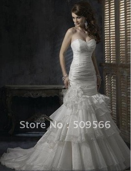Free shipping  Wedding Dresses any size/color wholesale/retail