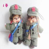 free shipping,10pcs/lot,new arrived ,Monchhichi doll , Chic-a-boo KiKi keychain toys,Stuffed & Plush  rag doll wholesale