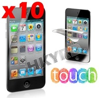 10PCS New Screen Protect Protector Guard for iPod Touch 4 4G (E4012)