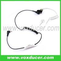 2.5mm plug headset listen only for shoulder mic