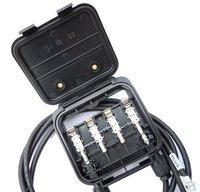 solar junction box, TUV, 4-rail,for 160W-240W solar panels,free shipping