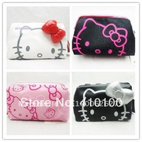 Hello kitty COSMETIC BAG MAKEUP CASE PURSE POUCH 4 color/lot