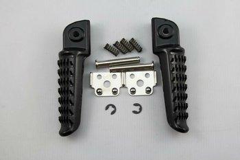 Kawasaki Ninja Rear Footrest Foot Pegs Aluminum Black