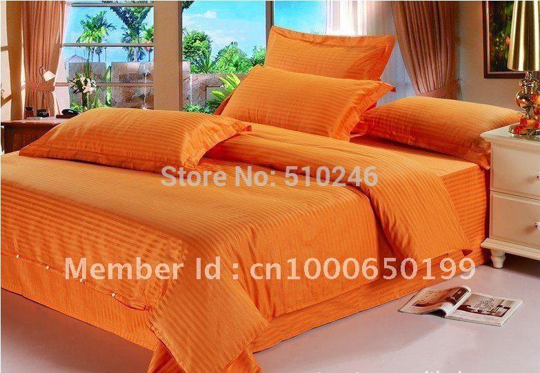 cotton sateen/plain color bedding set - Shop Cheap cotton sateen ...