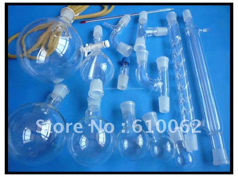 Free Shipping ASTM E438 Standard Borosilicate Laboratory Glassware Kit
