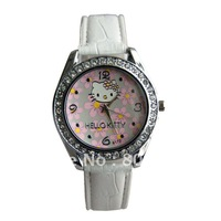 Hot Sale Free shipping 25PCS Hello Kitty quartz watches 119