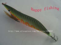 Luminous Squid Jig wood shrimp the most popular mode  Fishing Lure ,Luminous Squid Jig