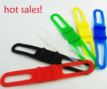 Bike Bicycle Silicone tie strap Bandages Road bike Silicone tie strap Bandages