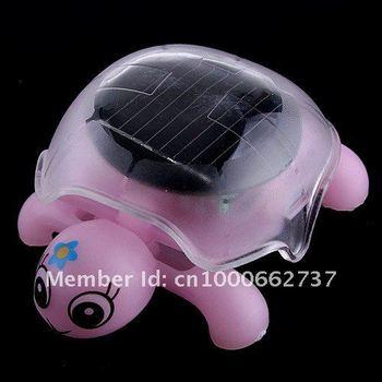High Quality Solar Mini Tortoise+Solar Turtle+Educational Toy+Novelty Kits+Fashional Walking Solar Toy Free Shipping