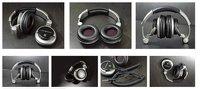 HI-FI headphone.DJ.PC.Professional monitoring earphone.Free shipping,HIP-TOP,MP3,10pcs/lot